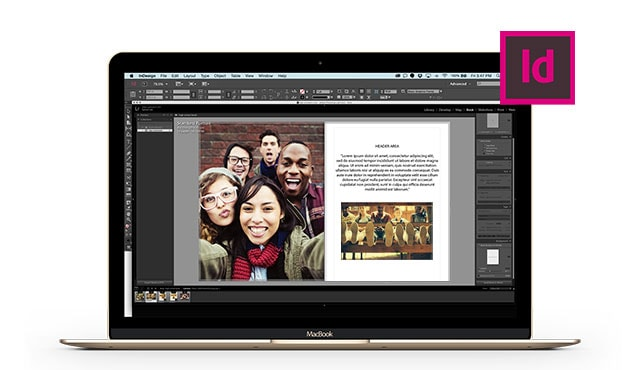 Adobe InDesign - Yearbook Maker Tool